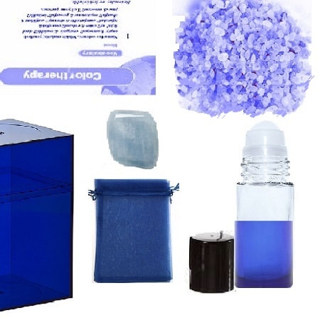 Blue Color Therapy Kit